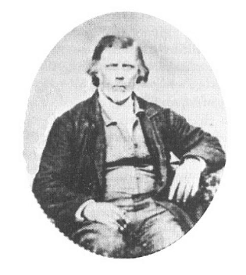 Retrato en dagherrotipo de Thomas B. Marsh.
